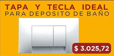 Tapa Y Tecla Ideal Para Deposito