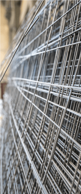 malla hierro materiales gruesos