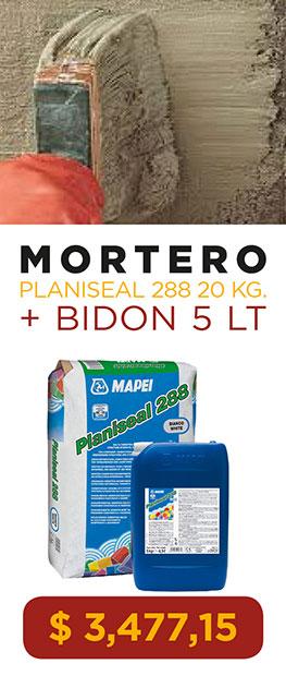 Mortero Mapei Planiseal 288 Bolsa 20 Kg. + Bidon 5 Lt