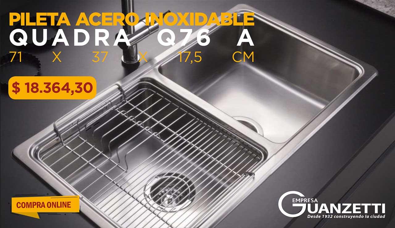 Pileta Doble Johnson Quadra Q76 A