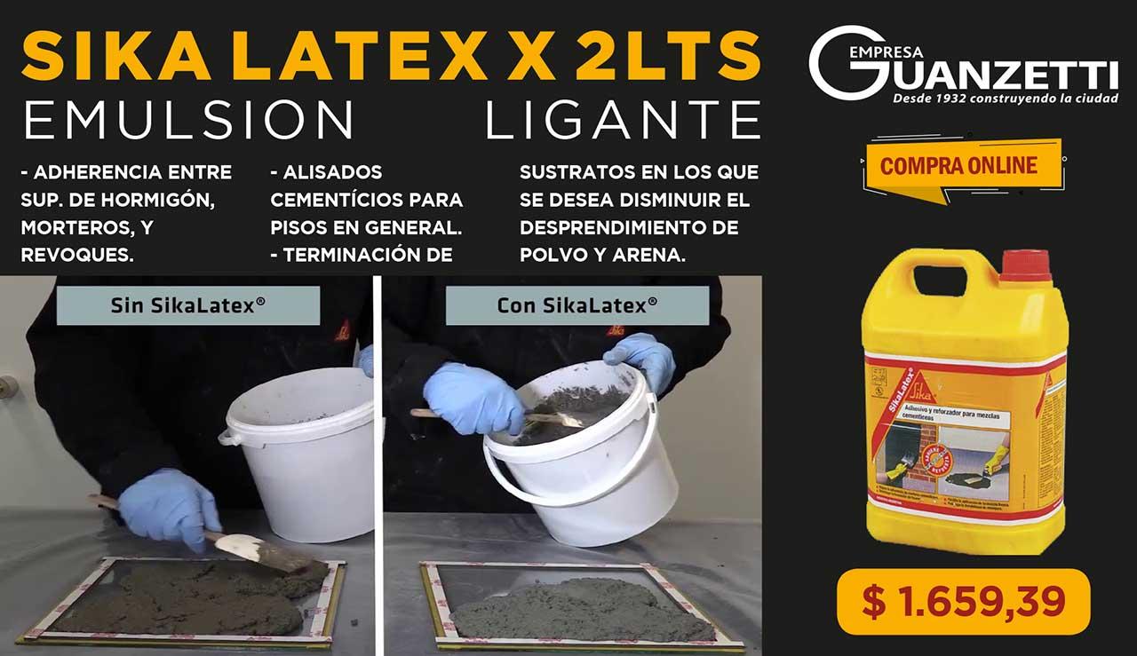 Sika Latex X 2 Lts Emulsiones Ligantes