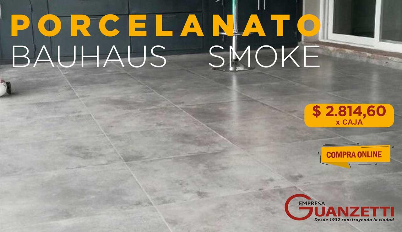 Porcelanato Esm.Rectifificado San Lorenzo Bauhaus 58X58 Cj.1,35M2 Smoke