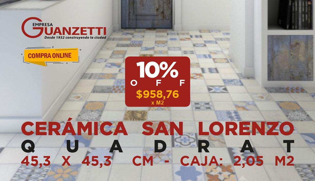 Ceramico San Lorenzo Quadrat