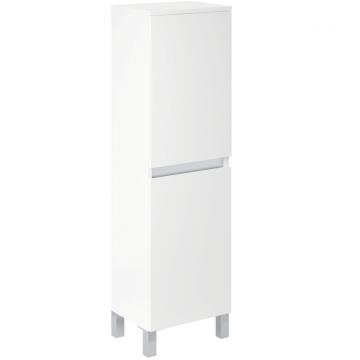 Mueble Para Baño Schneider Aqua 40 Cm Laqueado Blanco Brillante
