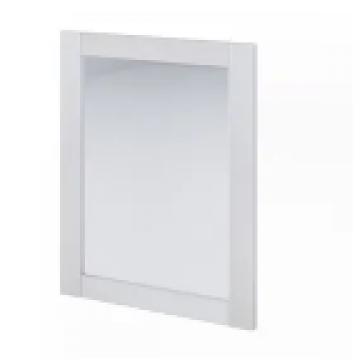 Espejo Schneider Marco 80 Cm Blanco Texturado