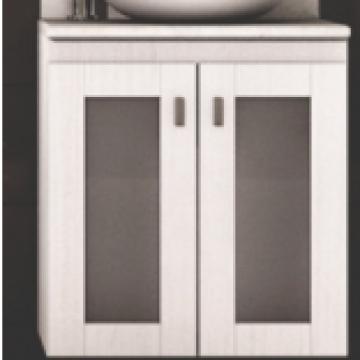 Vanitory Schneider Terra Vetro 50 Cm Colgante Blanco