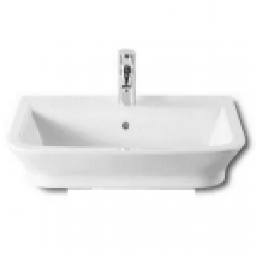Lavatorio 1 Agujero Roca The Gap 500X420 Mm Blanco