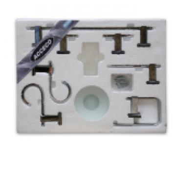 Kit Acceco Domenica Cromo 7 Piezas