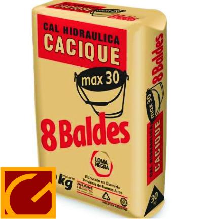 Cal Cacique  X 30 Kg.