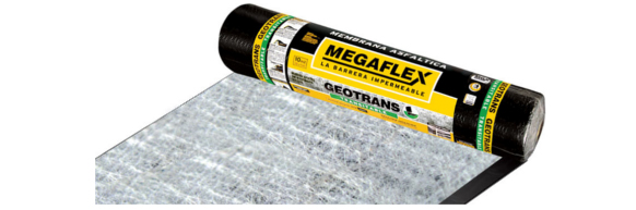 Membrana Megaflex Geotrans 4Mm X 10 Ml