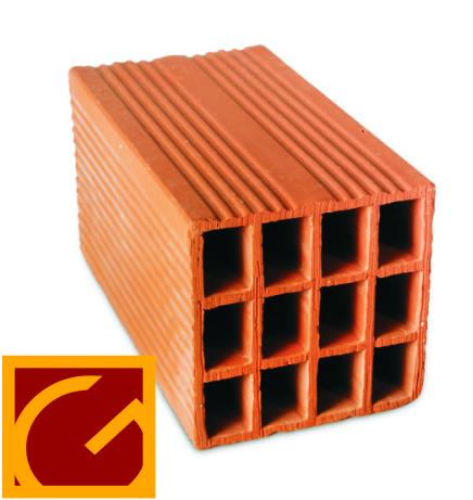 Ladrillo Hueco Ctibor X Unidad 18 X 18 X 33