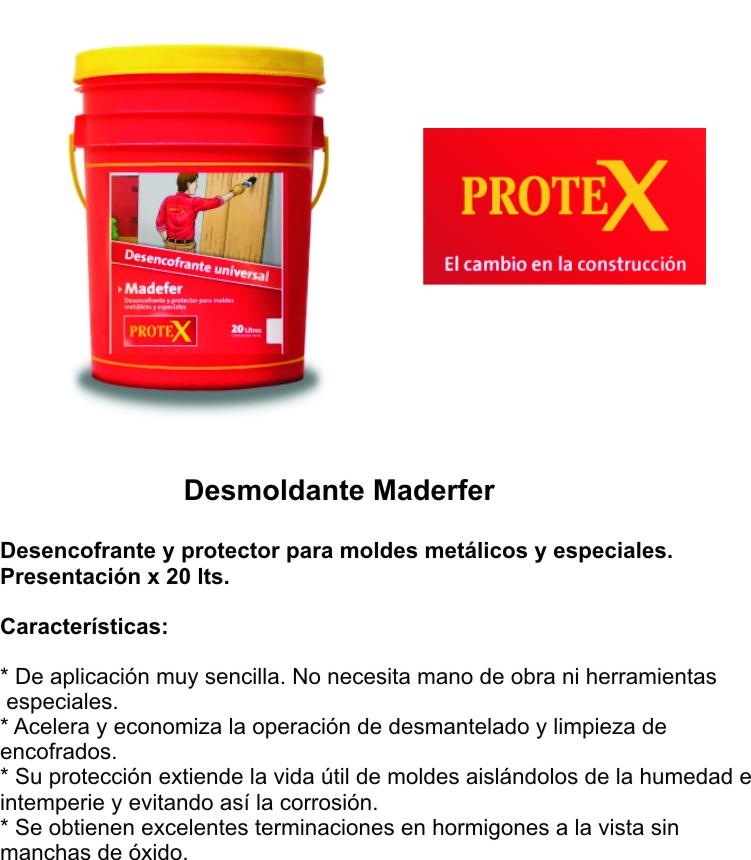 Prokrete Madefer X 20 Kgs