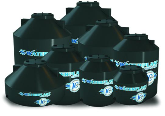 Tanque De Agua Bicapa 1100 Lts Waterplast