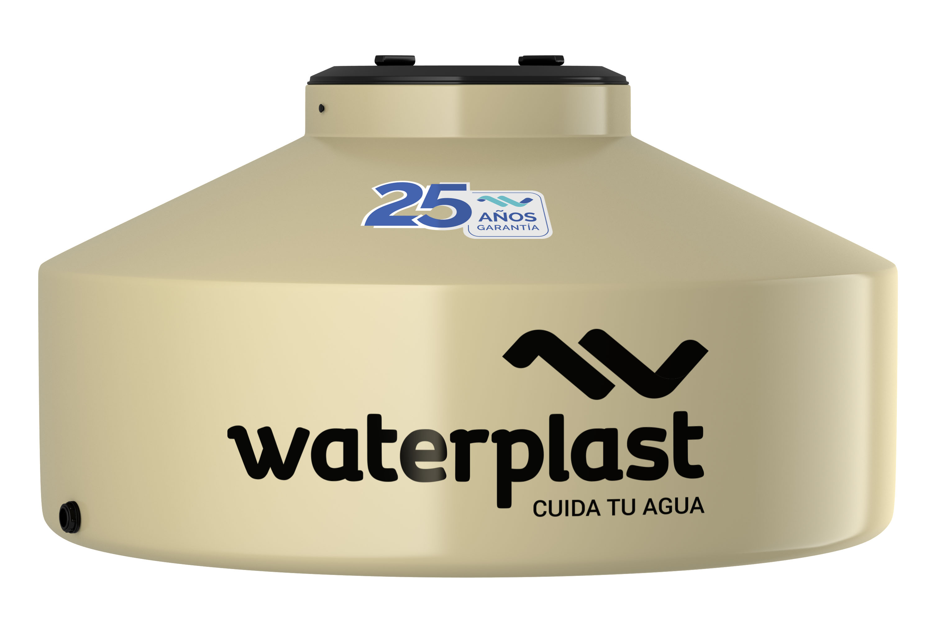 Tanque De Agua Tricapa Patagonico Waterplast 1000 Lts