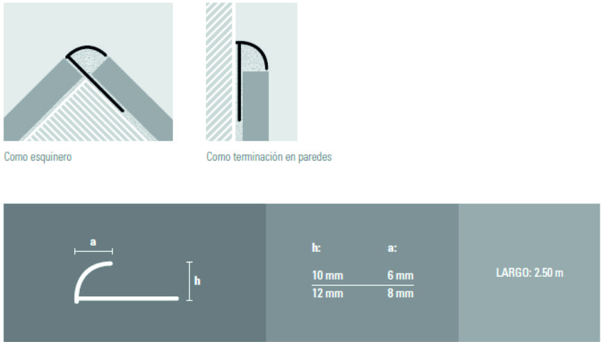 Varilla Aluminio Atrim 1381 0,9 Cm Cromo
