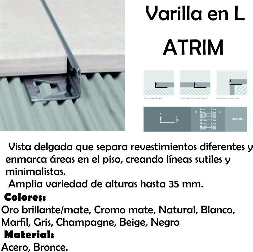 Varilla Acero Atrim 1450 L 1,0 Cm