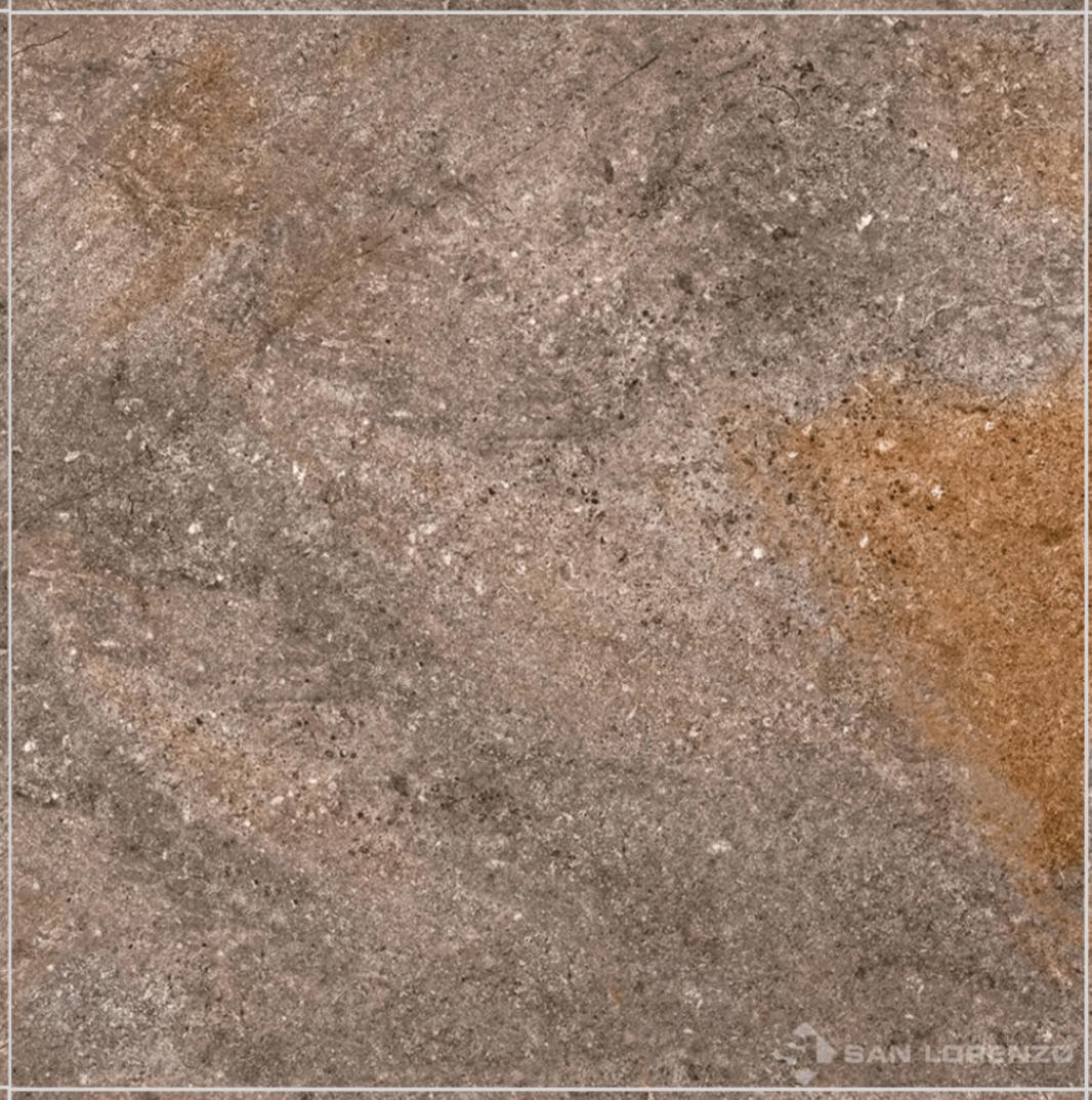 Porcelanato Porfido Oscuro Esmaltado San Lorenzo Rectificado 57,7 x 57,7 Cj.1,33