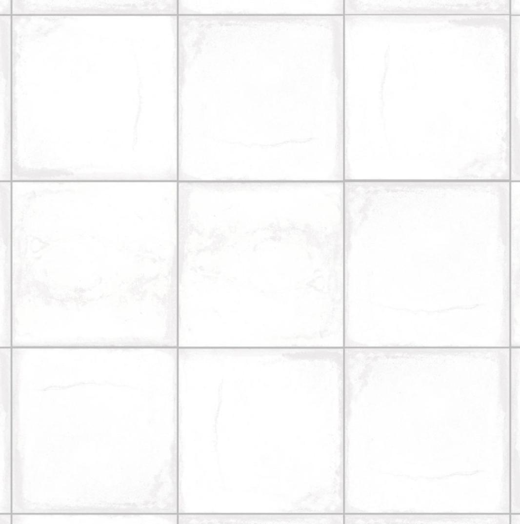 Porcelanato Esmaltado San Lorenzo Volta 18,5X18,5 Cj ,55 Mt Blanco