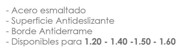 Bañera Chapa Enlozada 1500 X 700 X 360 Mm Blanca