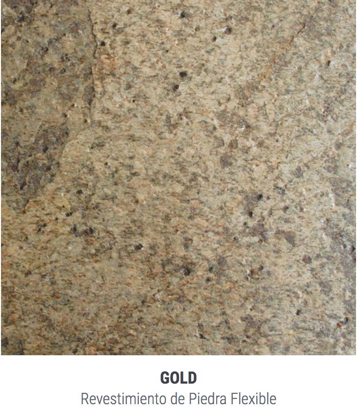 Placa Piedra Stoneflex El M2 62 X 122 Gold