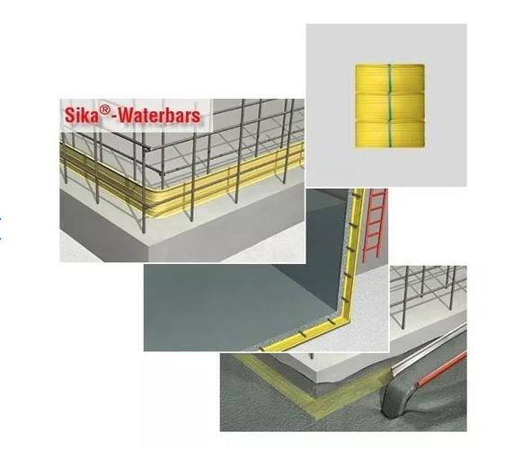 Junta Dilatacion Sika Waterbar V-15 X 20 Mts 438501
