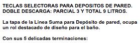 Tapa Y Tecla Ideal Para Deposito 81000 81200