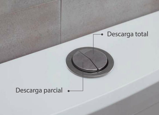 Mochila Para Baño Ideal Ultra Chata Con Descarga Dual 92000