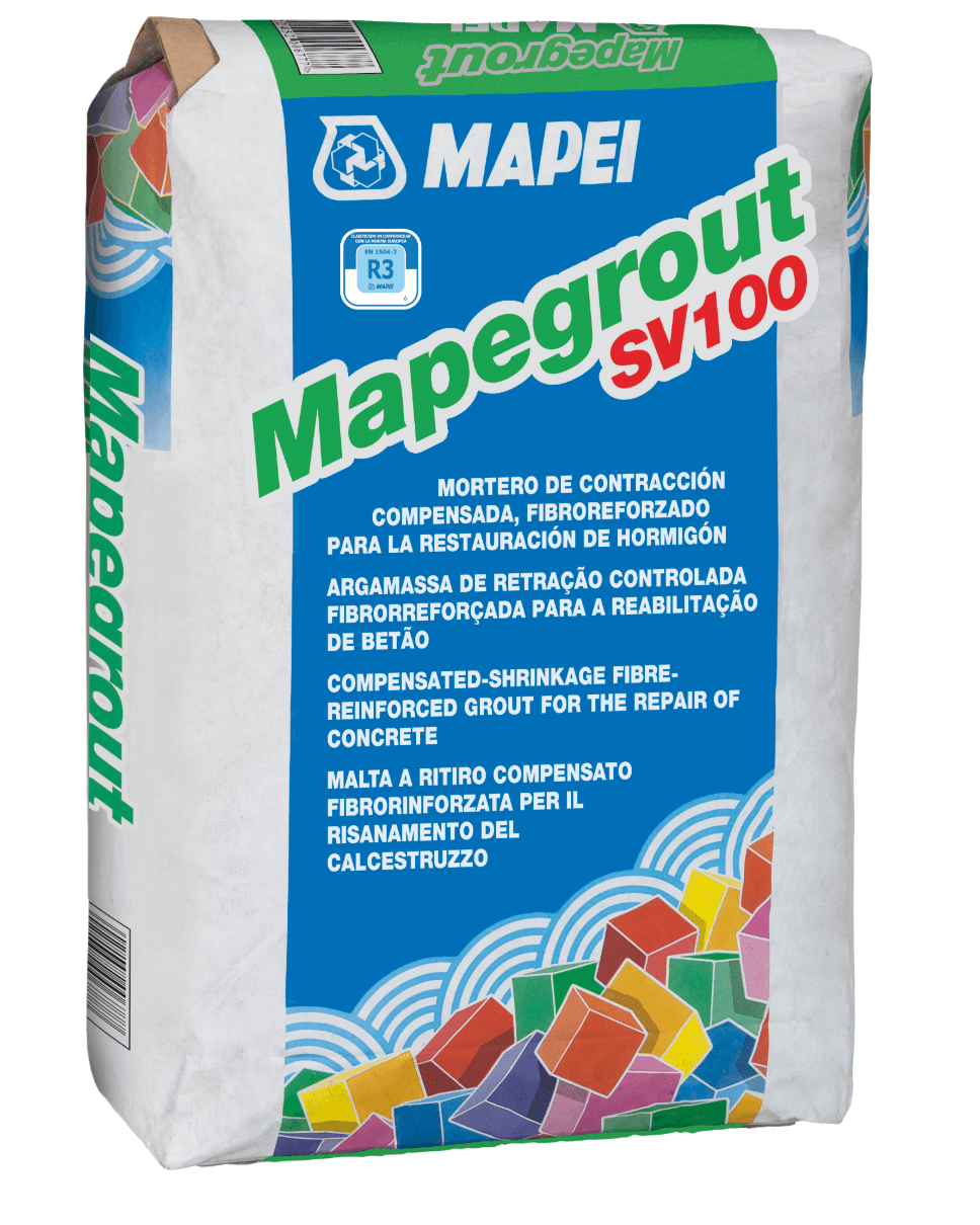 Mortero Mapei Mapegrout Sv100 X 25 Kg.