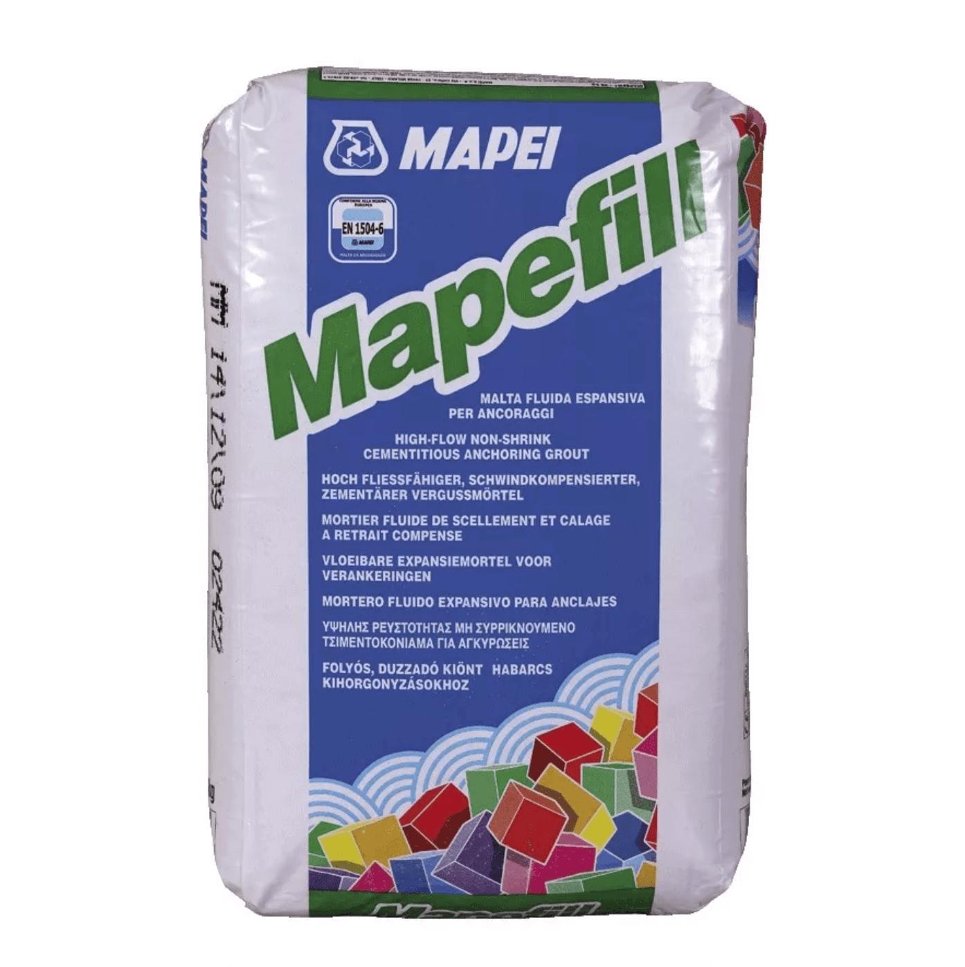 Mortero Mapei Mapefill E X 25 Kg.