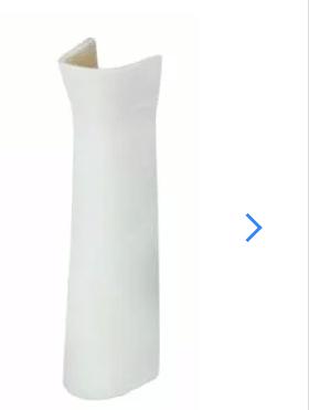 Columna Para Baño Capea Italiana  Blanco
