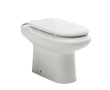 Inodoro Largo Roca Dama  Blanco