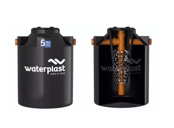 Tanque Biodigestor 2500 L Waterplast
