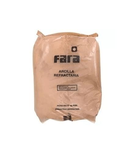 Arcilla Refractario Fara  X 30 Kg.