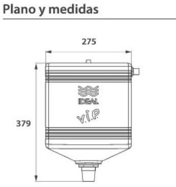 Deposito A Cadena Ideal Vip 30900 Blanco