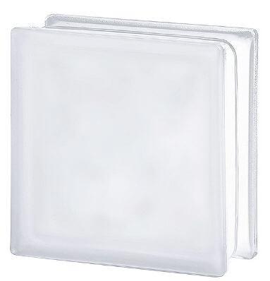 Ladrillo De Vidrio Vitroblock Nube 19 X 19 Incoloro Satinado 94100