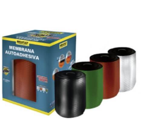 Membrana Asfaltica Megaflex Power Stick 0.15X1Mt Blanca