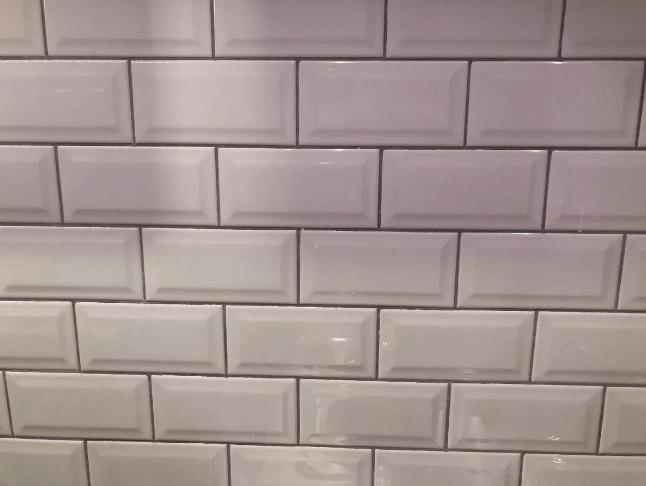 Brick Ceramico Biselado 7,7cm x 15,4cm 0.93M2 Blanco Bizantina