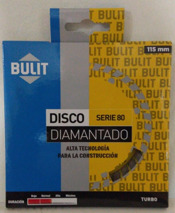 Disco Diamantado Erpa S 80 115 Mm Turbo