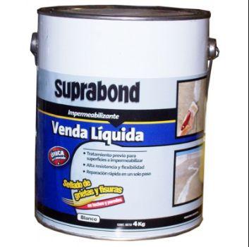 Venda Liquida Erpa Suprabond X 4 Kgs. Blanca