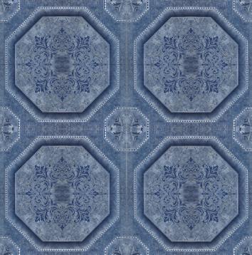 Ceramico San Lorenzo Oporto Azul 33X33