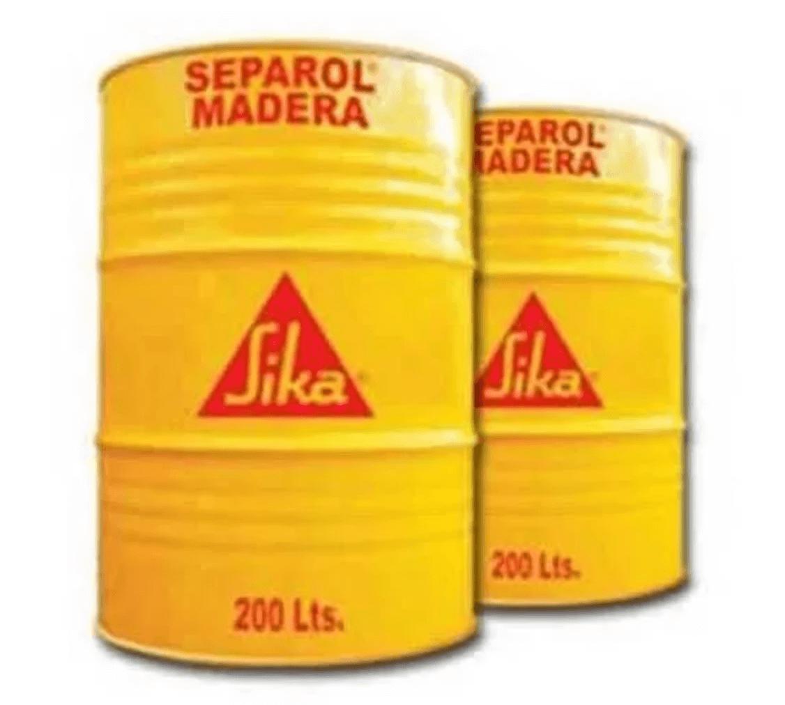 Sika Separol Madera X 200 Lts. Desmoldantes