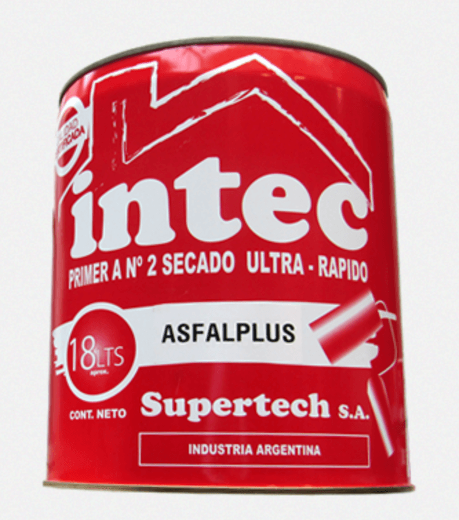 Pintura Asfaltica Secado Rapido 4 Lts. Supertech
