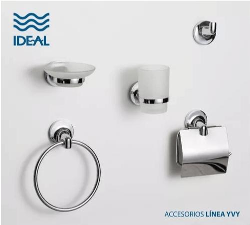 Set Accesorios Para Baño 5 Piezas Ideal Linea Yvy
