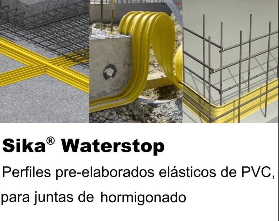 Junta Dilatacion Sika Waterbar 0-15 X 20 Mts 96427