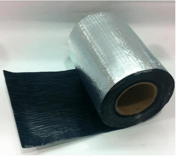 Membrana Autoadhesiva Con Aluminio 0.30 X Ml