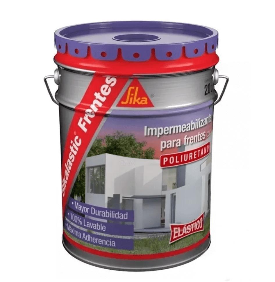 Pintura Impermeable Sika Sikalastic Frentes Blanco X 10 Lts.
