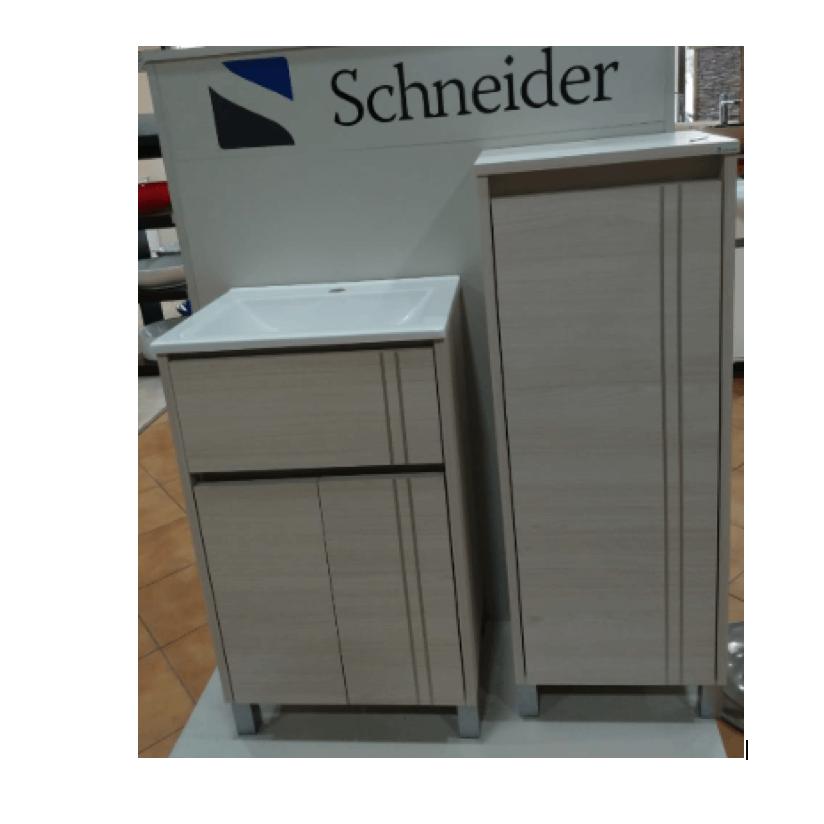 Vanitory 60 cm Blanco Texturado Nature NO incluye mesada Schneider