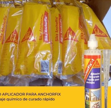 Boquilla Sika Anchorfix Para Cartucho Anclaje Quimico X Unidad