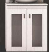 Vanitory Colgante 50 Cm Blanco Terra Vetro NO incluye mesada Schneider