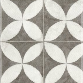 Ceramica San Lorenzo Flower 45,3X45,3 Cj,2,05 M2. White